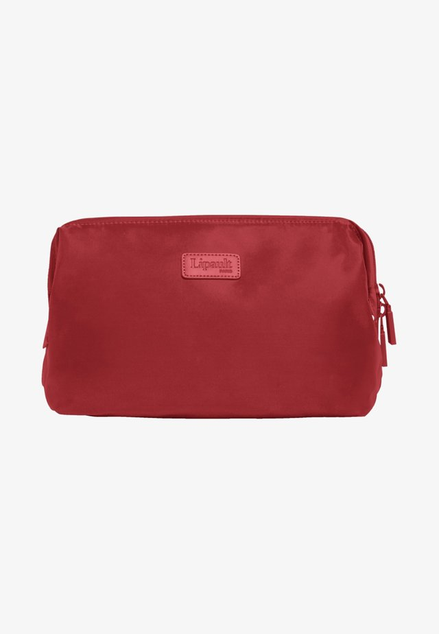 PLUME - Wash bag - cherry red
