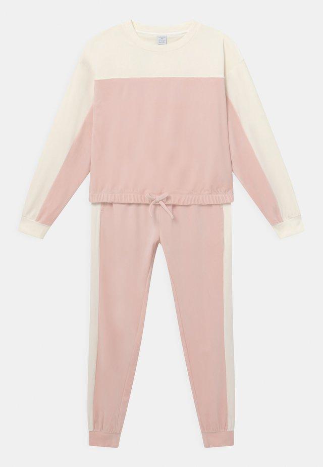 SET - Sweatshirt - light dusty pink