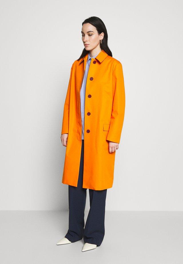 Wollmantel/klassischer Mantel - orange