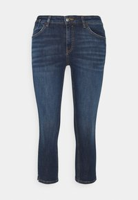 edc by Esprit - CAPRI - Denim shorts - blue dark wash - 0
