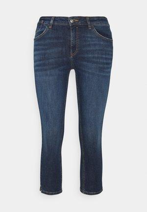 CAPRI - Denim shorts - blue dark wash