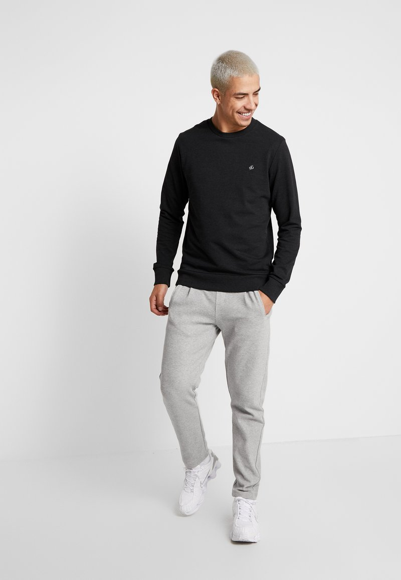 Jack & Jones - JORBASIC CREW NECK 2 PACK - Sweater - black