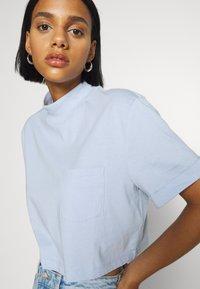 Even&Odd - Basic T-shirt - blue - 3