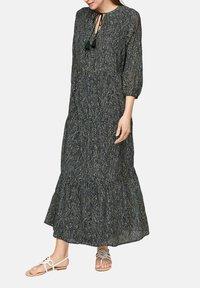 s.Oliver BLACK LABEL - Maxi dress - dark green aop - 4