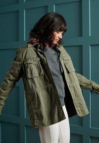 Superdry - BOHO ROOKIE - Light jacket - sage khaki - 2