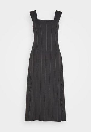 PANELED DRESS BARCLAY - Sukienka dzianinowa - black
