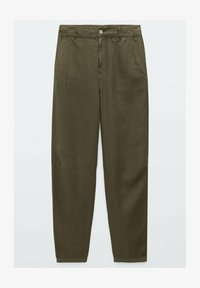 Massimo Dutti - RELAXED-FIT - Trousers - green - 1