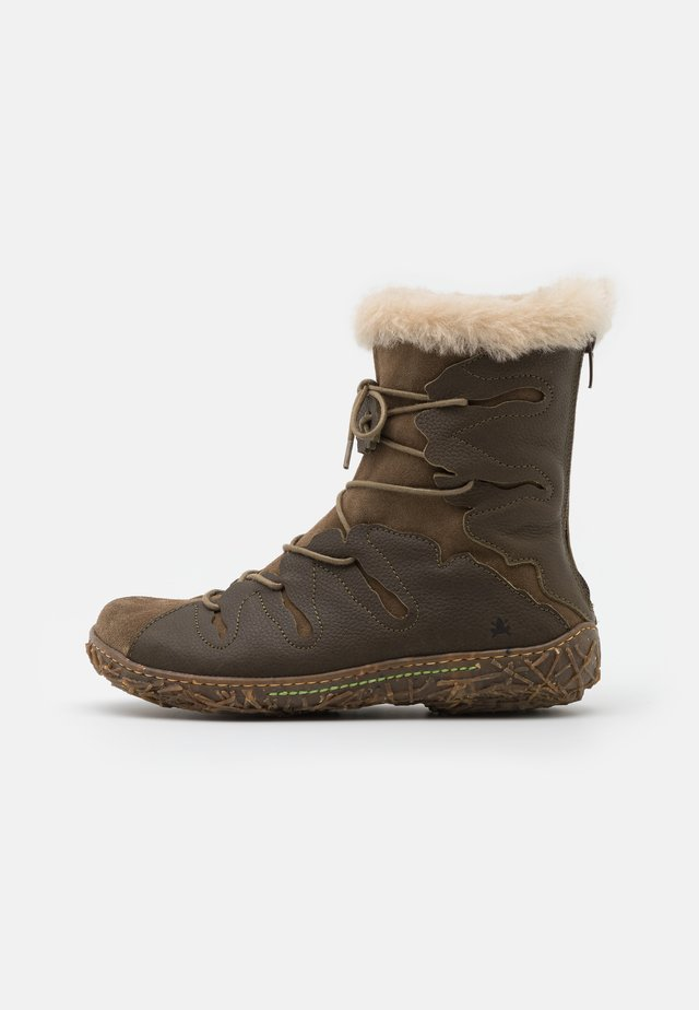 NIDO - Winter boots - olive