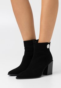 JOOP! - VELLUTO PATTY BOOT - Classic ankle boots - black - 0