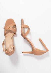 Head over Heels by Dune - MADIHA - High heeled sandals - nude - 3