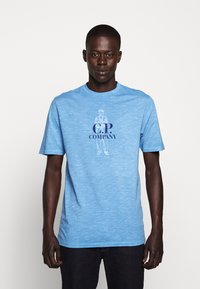 C.P. Company - Print T-shirt - riviera - 0