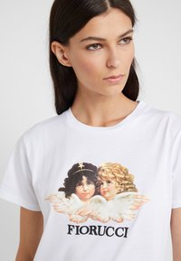 Fiorucci - VINTAGE ANGELS TEE  - T-shirt con stampa - white - 4
