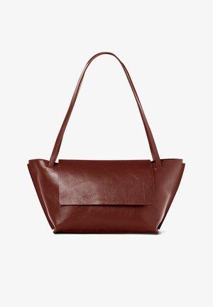 Handbag - deep brown