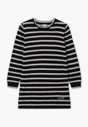 SURI - Pletené šaty - black