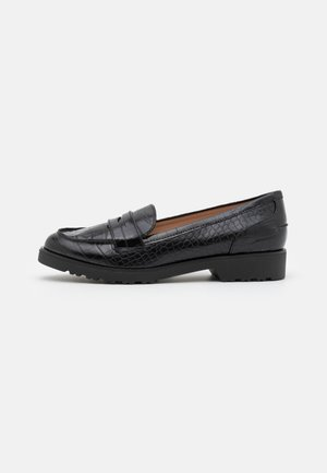 LINCOLN CHUNKY LOAFER - Slip-ons - black