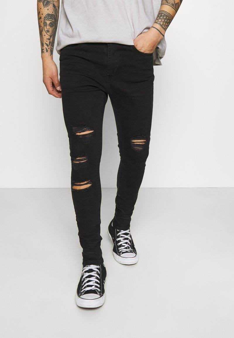 Night Addict - Jeans Skinny Fit - black