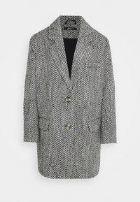 Gina Tricot - LINNEA COAT - Classic coat - black/white - 4