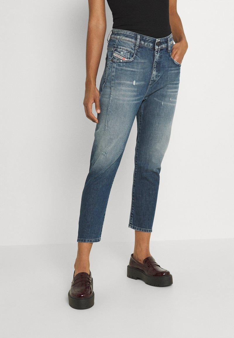 Diesel - D-FAYZA - Relaxed fit jeans - denim blue