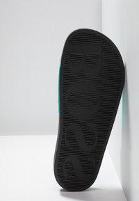 BOSS - SOLAR SLID LOGO - Mules - turquoise/aqua - 4