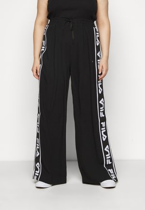 TAINI TAPED PANT - Kangashousut - black