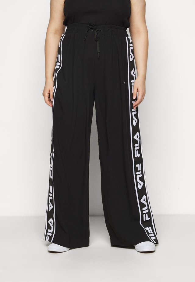 TAINI TAPED PANT - Trousers - black