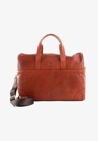 Saddler - Weekend bag - midbrown - 0