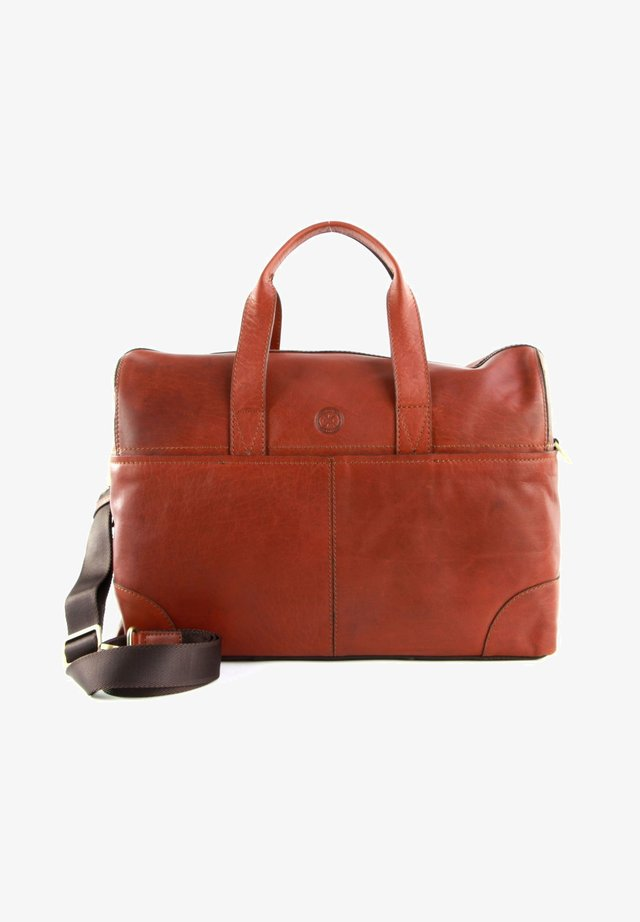 Weekend bag - midbrown