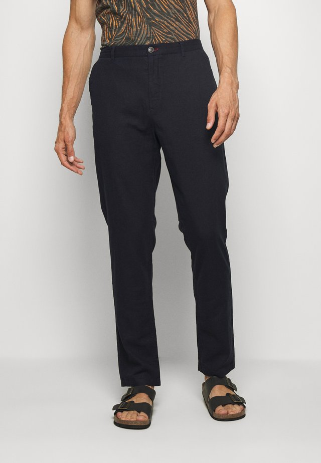 PANT BASICO - Trousers - medium blue
