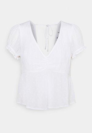BABYDOLL - Blouse - pretty white