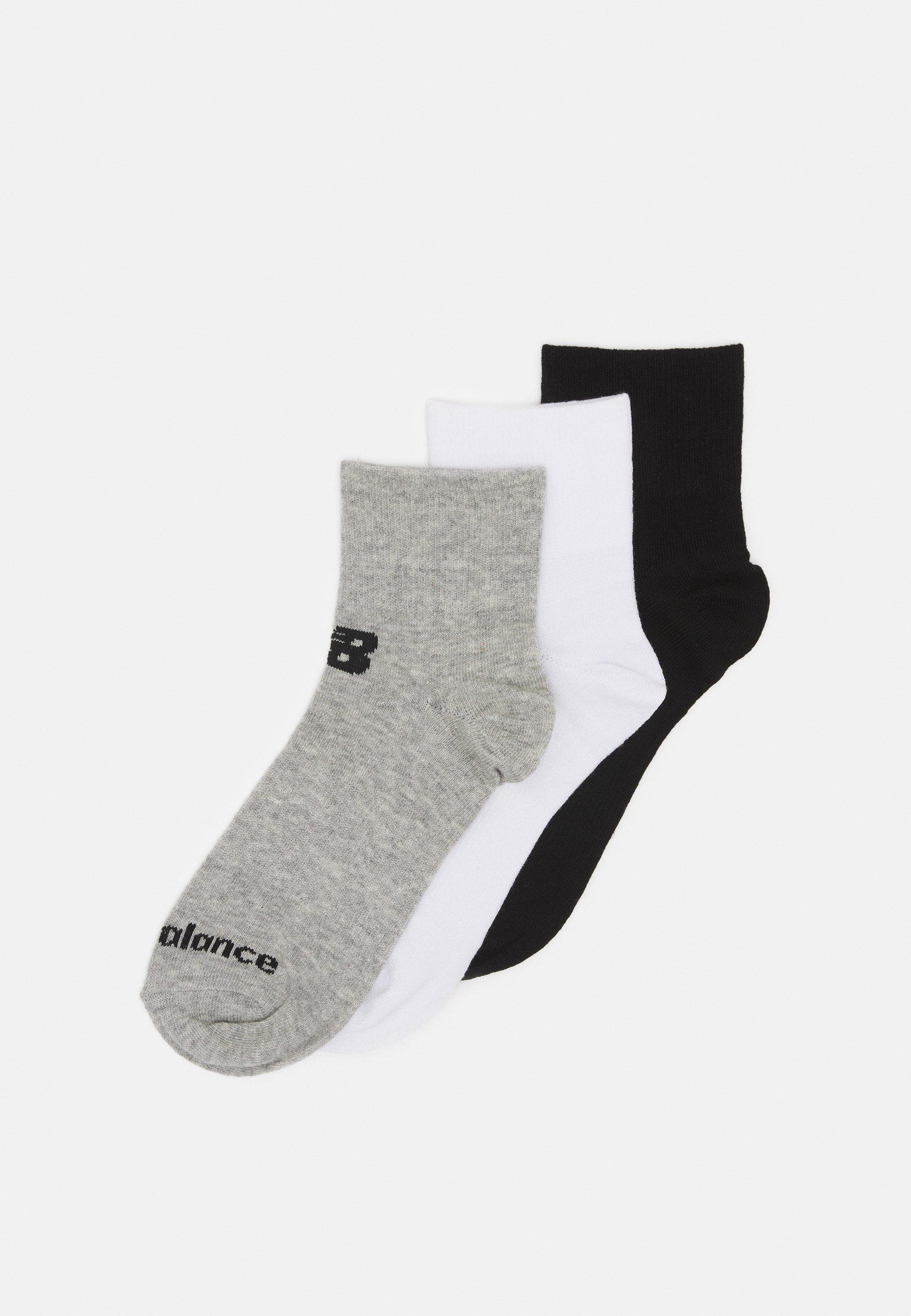 Men QUARTER FLAT 3 PACK UNISEX - Sports socks
