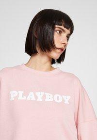 Missguided - PLAYBOY LONG SLEEVE LOUNGE  - Sudadera - pink - 4