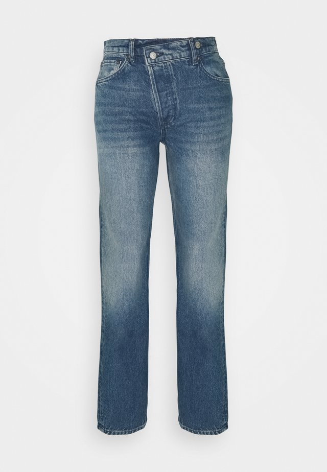 THE CASEY - Jeans a sigaretta - blue denim
