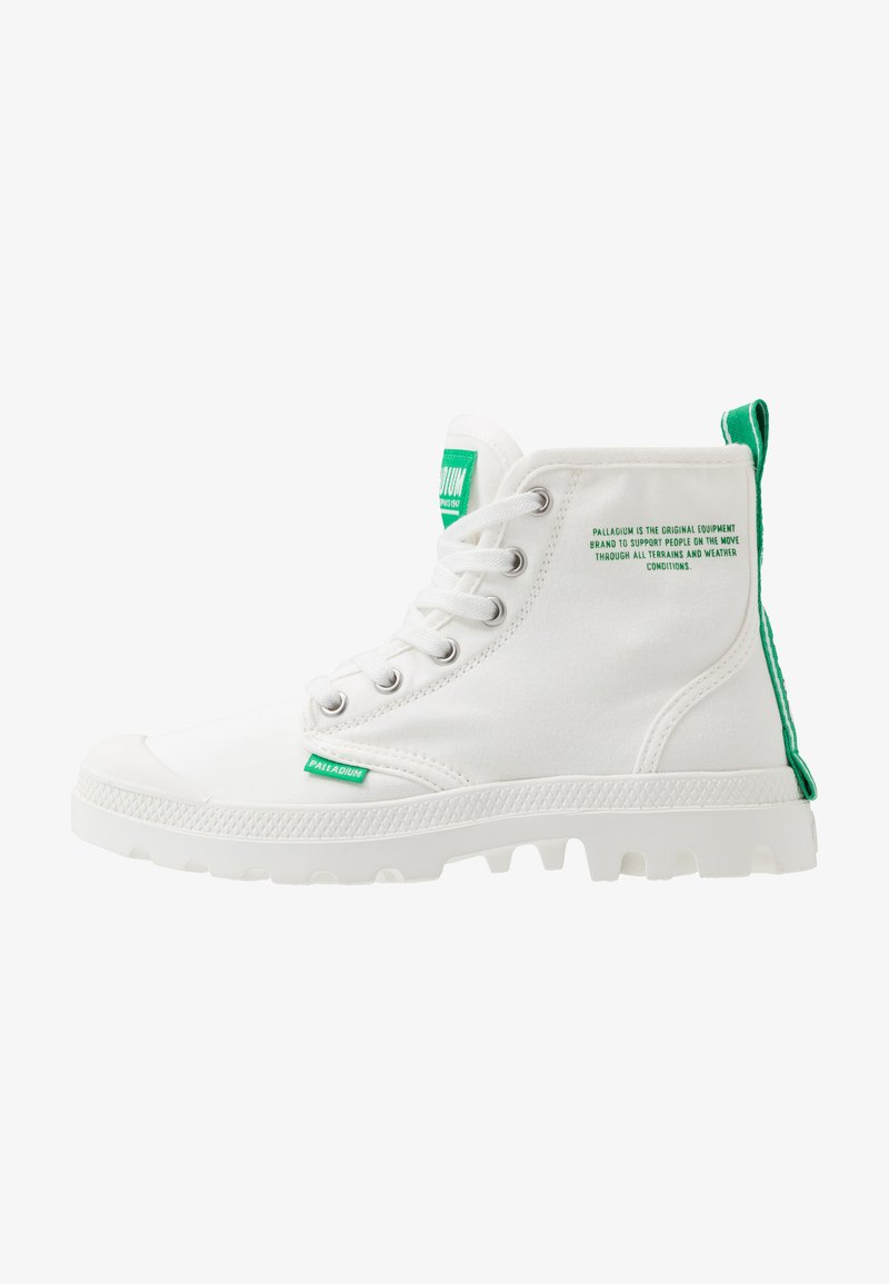 Palladium - PAMPA DARE SAFETY - Lace-up ankle boots - starwhite