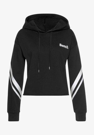 Hoodie - schwarz weiß