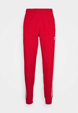 STRIPES PANT UNISEX - Tracksuit bottoms - scarle