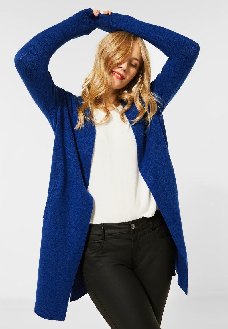 Street One - Cardigan - blau