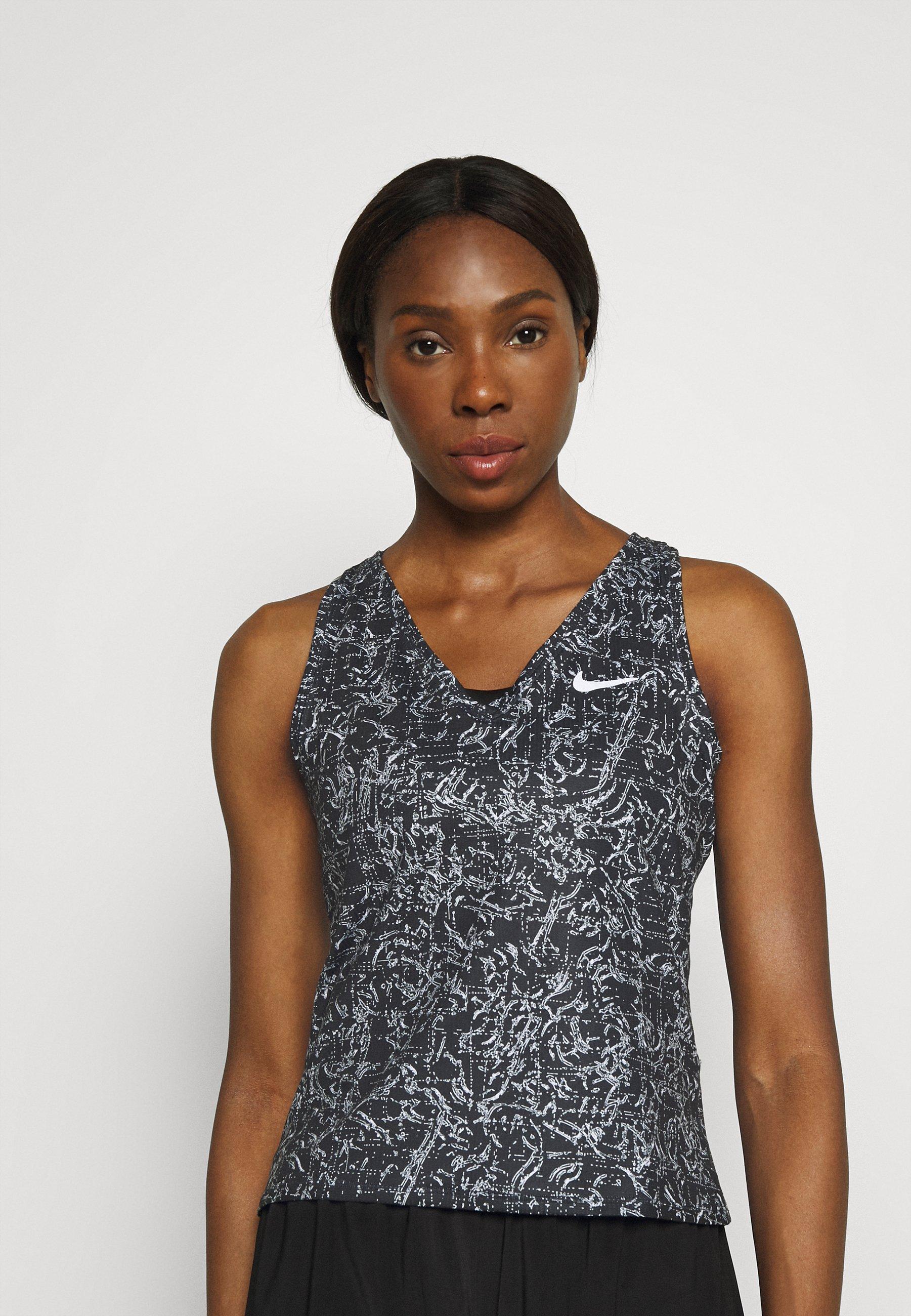 Women VICTORY TANK PRINT - Sports shirt