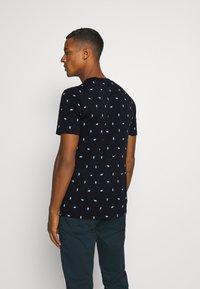 Scotch & Soda - Print T-shirt - dark blue - 2