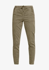 Cream - ROSITA - Trousers - khaki - 4