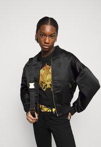 Versace Jeans Couture - T-shirt print - black - 3