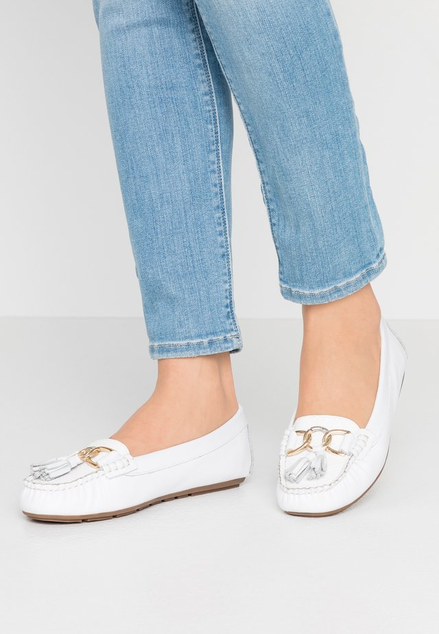 GEENA - Loafers - white