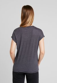 ONLY - ONLTINA STRIPE V NECK - Print T-shirt - night sky - 2