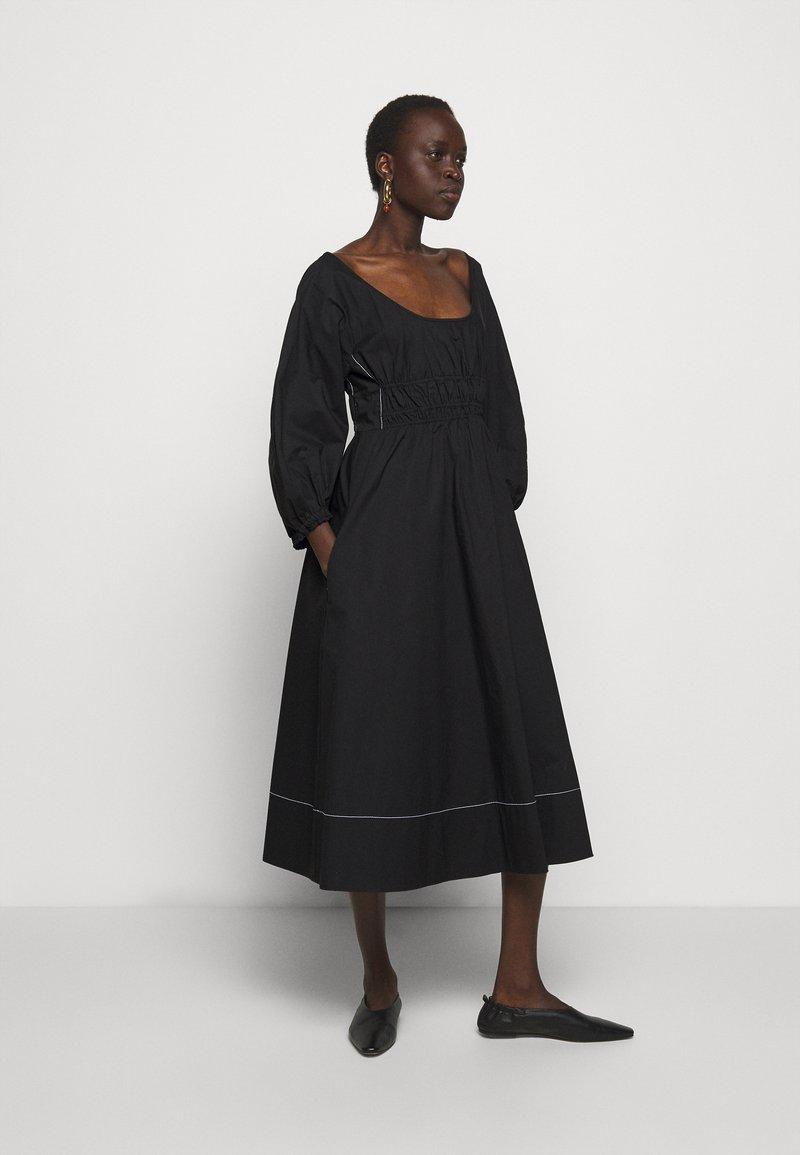Proenza Schouler White Label - FULL SLEEVE DRESS - Vestido informal - black