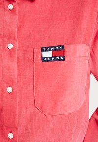 Tommy Jeans - TJW WASHED CORD SHIRT - Camisa - claret red - 5