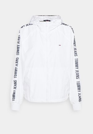 TAPE SLEEVE  - Summer jacket - white