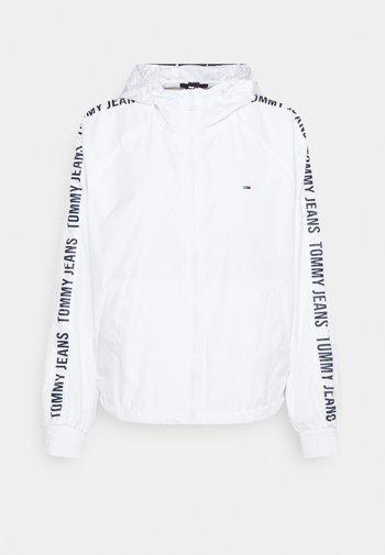 TAPE SLEEVE  - Summer jacket - white