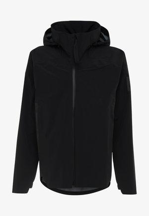 MYSHELTER RAIN.RDY - Hardshellová bunda - black