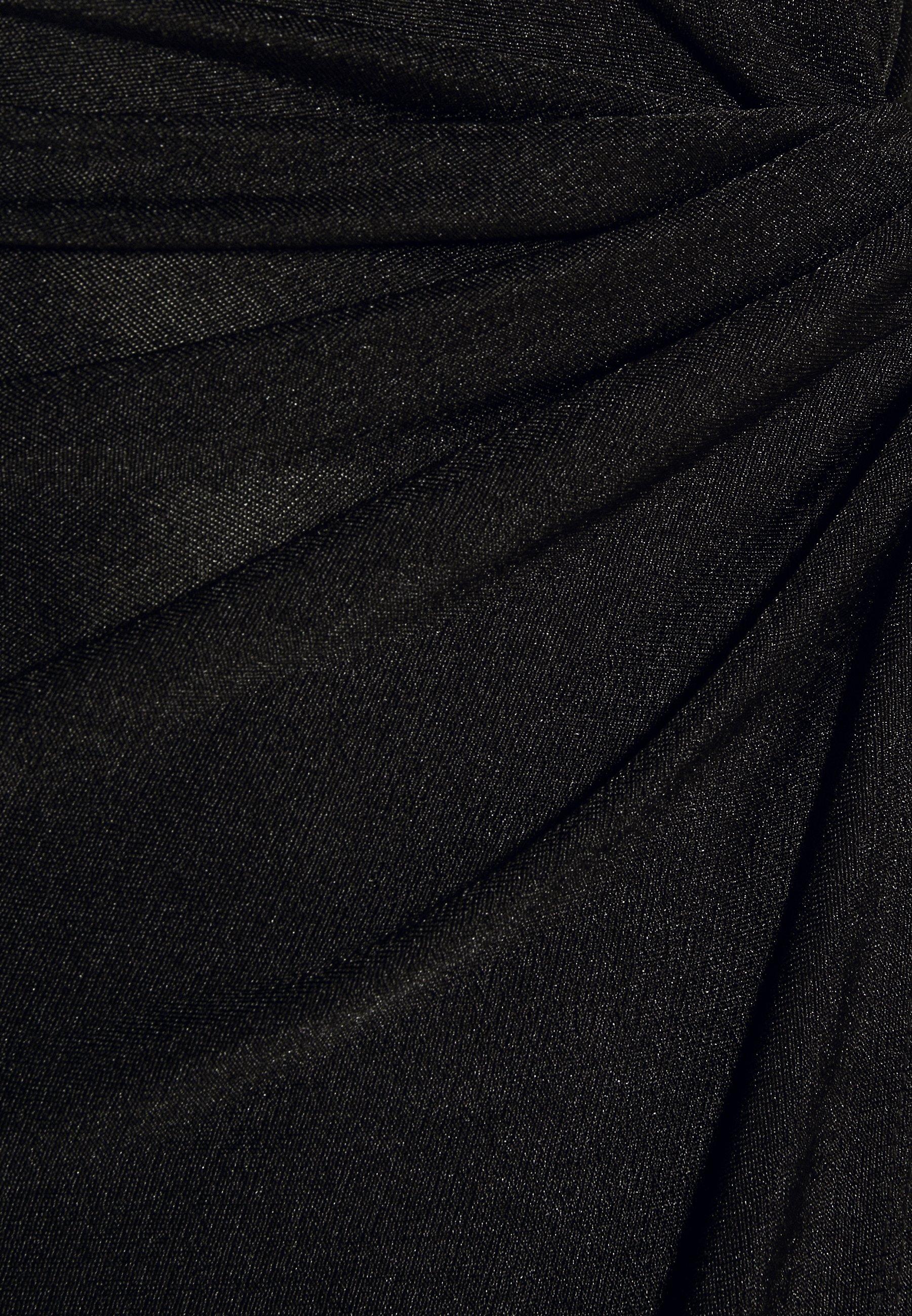 WAL G. KNOT TIE MIDI DRESS Freizeitkleid black/shimmer/schwarz