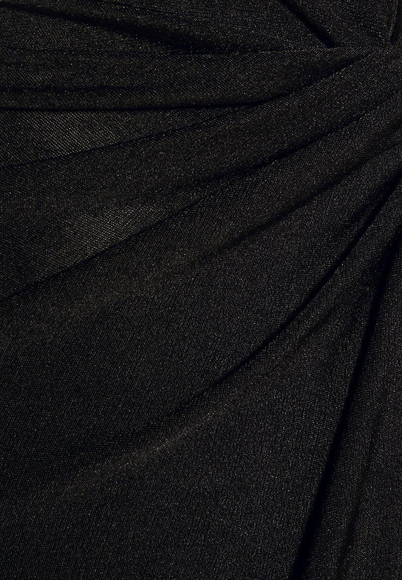 WAL G. KNOT TIE MIDI DRESS - Freizeitkleid - black/shimmer/schwarz GyAN40