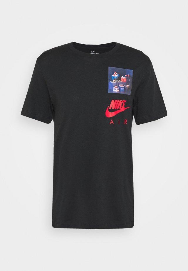 AIRMAN  - T-shirt imprimé - black
